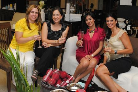 Ana Isabel Cuadra, Sofía Maratos, Sandy Pou y Cecilia Carballo