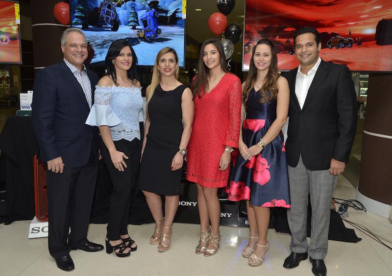Jaime Estévez, Pilar Dominguez de Estévez, Maristela Marangoni , Pilar Estévez, Maria Simó y Jaime Estévez Dominguez.