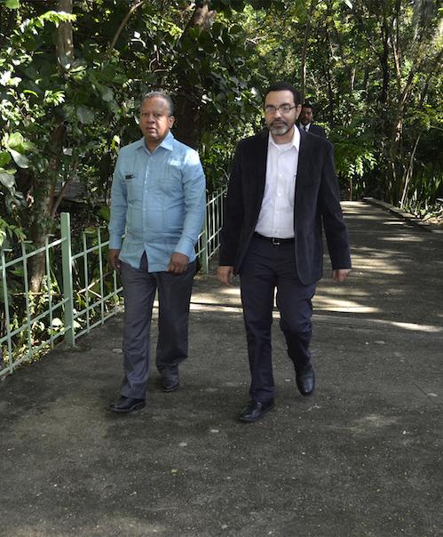Francisco Núñez y Carlos García