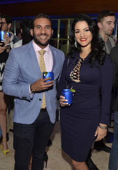 Oscar De Castro y Violeta Ramírez