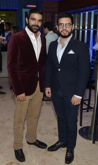 Guillermo Mejía y José Armando Cuello