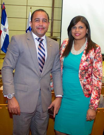 Ricardo Joaquín y Sandra Genao
