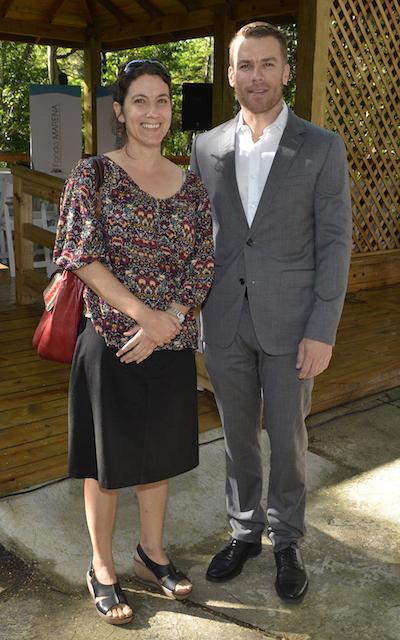 Yolanda León y Jake Kheel