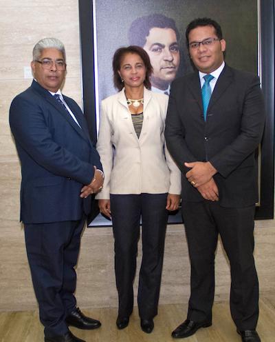 Andrés Billini, Nerva María Arias y Néstor Marte