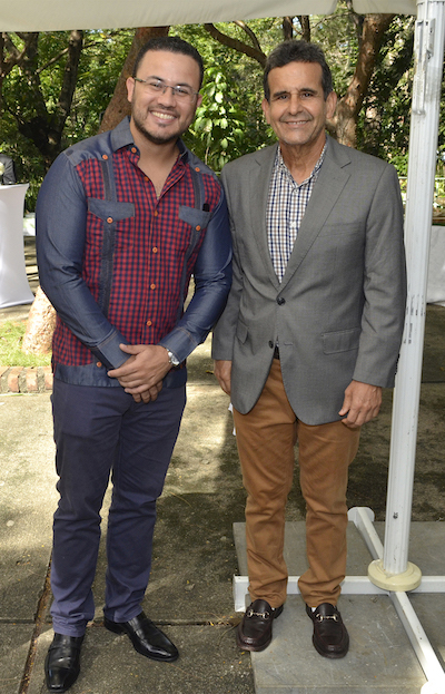 Jonathan Delance y Jesús Moreno
