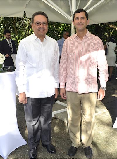 Simón Suarez y Roberto Herrera