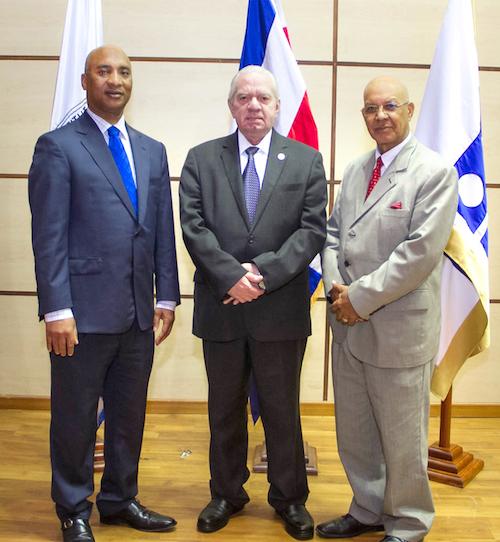 Felipe Montero, Antonio Gómez Espiñeira y Francisco Acosta
