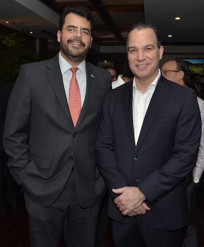 Luis García Marion Landais y Ney Díaz