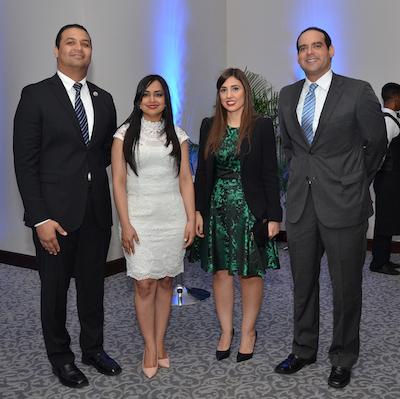 Foto 3 Erick Pineda, Soraya Lamboglia, Julianna Guzmán y Enmanuel Montás