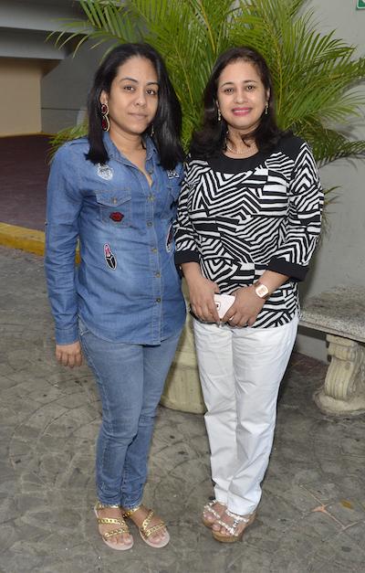 Luz Infante y Marina Santana