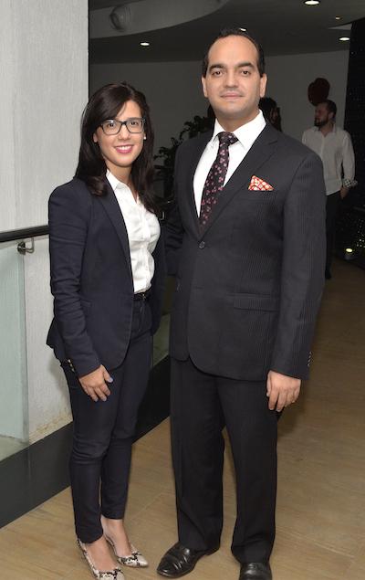 Yelisa Ledesma y Gilberto Objio