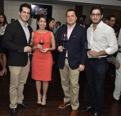 Thomas Pichardo, Carolina Ovalle, Carlos Zimmerman  y Jean Pierre