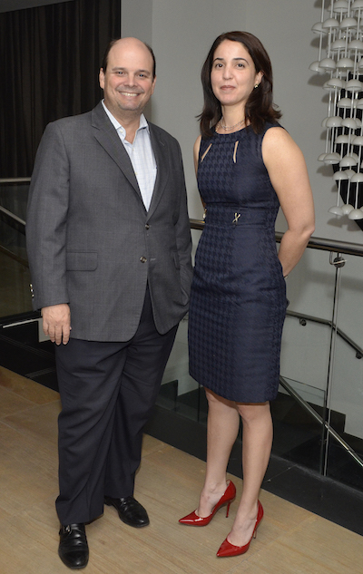Antonio Ramos y Angie Bergés