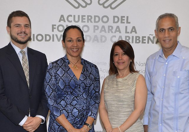 Fondo MARENA y Fondo Caribeño para la Biodiversidad Firman Acuerdo Realizan Compartir