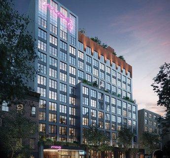 Lightstone recauda más de 70 millones de dólares de inversión para el hotel Marriot Moxy de East Village