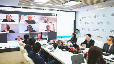 Thousand Cities Strategic Algorithms atiende los problemas económicos posteriores a la pandemia en la reunión del RBWC del FMI/Banco Mundial presentando una revolucionaria solución macroeconómica basada en la información
