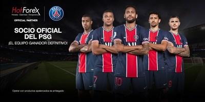 HotForex se convierte en Socio Oficial de Paris Saint-Germain
