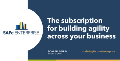 Scaled Agile, Inc. presenta SAFe® Enterprise, un servicio de suscripción premium que ayuda a las organizaciones globales a lograr una agilidad sostenible en sus negocios