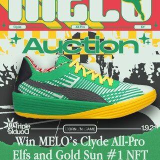 """Rookie de la NBA del año: LaMelo Ball subastará el calzado autografiado de su triple doble vinculado al NFT N.° 1 """"GOLD SUN"""""""